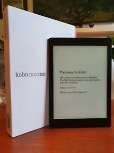 "Kobo Aura ONE e-reader 7.8"" with backlighting and waterproof"