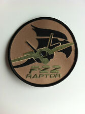 USAF Lockheed F-22 Desert Raptor Patch Stealth Fighter Iraq ISIS 5th Generation