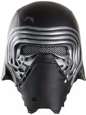 Kylo Ren Mask Adult Star Wars Mens Authentic Licensed 1/2 Costume Mask - Fast -