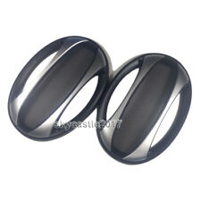 """2pcs 6""""x9"""" 6x9 inch Speaker Protective Cover Decorative Circle Metal Mesh Grille"""