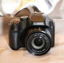 New listing Panasonic Lumix Fz80 18.1Mp Digital Camera - Black 4k video Recording
