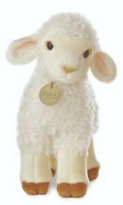 """NEW AURORA MIYONI PLUSH 10"""" LAMB 26179 CUDDLY QUALITY SOFT SHEEP TOY TEDDY"""