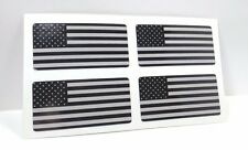 BLACK OPS US FLAG DECALS / VINYL STICKERS - 4 PACK, 1 X 2 inches