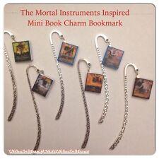 Handmade The Mortal Instruments Mini Book Charm Bookmark Geekery Gift