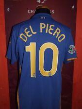 DEL PIERO JUVENTUS 2007-08 MAGLIA SHIRT CALCIO FOOTBALL MAILLOT JERSEY CAMISETA