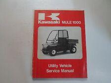 1987 Kawasaki MULE 1000 Utility Vehicle Service Manual NEW FACTORY OEM BOOK 87