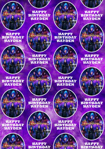 DESCENDANTS 3 Personalised Gift Wrap - Disney's Descendants Wrapping Paper