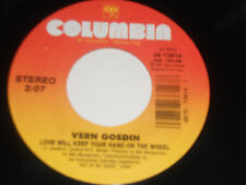 VERN GOSDIN NM I Knew My Day Would Come 45 Love Will Keep Your Hand On The Wheel
