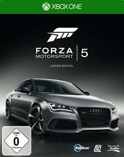 Forza Motorsport 5 -- Steelbook Limited Edition (Microsoft Xbox One, 2013,...