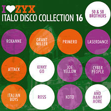 CD zyx italo disco collection 16 de various artists 3cds