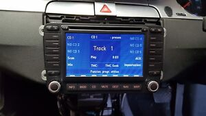 2006 VW PASSAT B6 3C RADIO CD SAT NAV WITH CODE & CD 1K0035198B