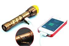 Torcia Portatile Ricaricabile Flashlight SY-8033 Con Usb 200 Lumen 250m hsb