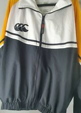 Canterbury Rugby Mens Classic Training Track  Jacket  Sz  -XL Rugby Clothing