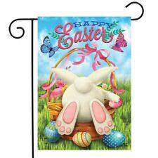 "Easter Egg Hunt Garden Flag Bunny Basket Humor 12.5"" x 18"" Briarwood Lane"