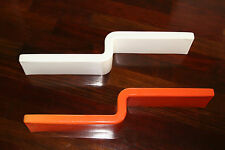 Vintage Mid Century Modern Acrylic/Lucite Wave Wall Shelves -Eames Style
