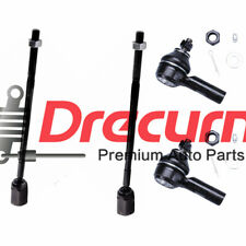 4PC Inner and Outer Tie Rod Ends For Ford Escort Tempo Mercury Topaz