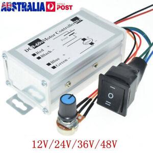 Reversible DC Motor Speed Controller Driver Controls 9V-60V 12V 24V 36V 48V 60V
