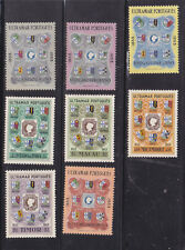 1954 colonies,eight stamps,          o698