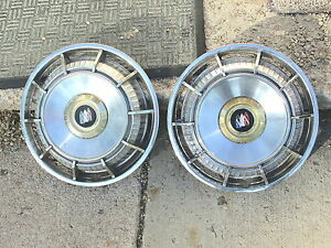 """Vintage 1960's  Buick 15"""" Hubcap Hub Cap Wheel Cover Very Good Condition"""