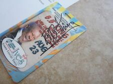 BB King Signed Autographed PSA Certified Laminated Backstage Pass #1