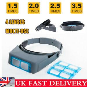 Headband Magnifier Head Magnifier Hands Free Magnifying Glass Optivisor TI