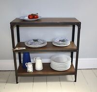 Shelving Unit, Burnt Copper colour, no assembly required
