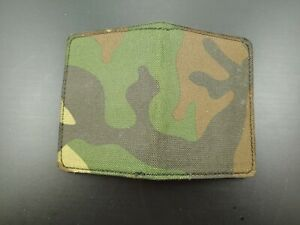 NEW REAL CAMOUFLAGE LEATHER Handmade MILLENNIAL Credit Card case PYTHON HUNTER