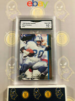 1992 Action Packed Barry Sanders #72 - 10 GEM MINT GMA Graded Card