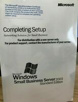 Windows Small Business Server 2003  standard edition NEW SEALED 5 USER