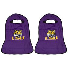 TWO BRAND NEW LSU LOUISIANA STATE UNIVERSITY TIGERS Seat Armour Towel Covers
