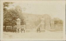 Colchester Castle Gates Children 1910 -     QS.385