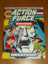 ACTION FORCE #24 15TH AUGUST 1987 MARVEL BRITISH WEEKLY COMIC WITH FREE GIFT