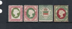 Heligoland Stamp Mix Mint & Used As Scans (2 Scans)