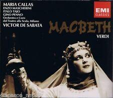 Verdi: Macbeth / De Sabata, Callas, Tajo, Mascherini, Penno - CD Emi