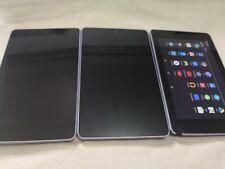 ASUS Google Nexus 7 16GB, 7 inch - Black Touch Screen JOBLOT x3