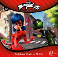 MIRACULOUS - (3) ORIGINAL HÖRSPIEL ZUR TV-SERIE-TIMEBREAKER   CD NEU