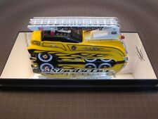 CUSTOM CREW Red Fire Engine Ladder Truck CHASE Sledster Drag Bus Evo Yellow