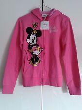 Felpa Minnie Mouse con Cappuccio e Zip Tasche 12/13 anni 158 cm Disney Originale