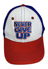 JOHN CENA Red White Blue Never Give Up Baseball Cap Hat
