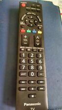 Tv Remote Control For Panasonic Viera TV N2QAYB000321