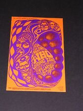 BG068 THE WHO Psychedelic FILLMORE Postcard handbill by Bonnie MacLean