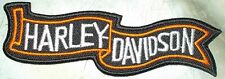 Iron On/ Sew On Embroidered Patch Badge Harly Pennant Logo HD Dave
