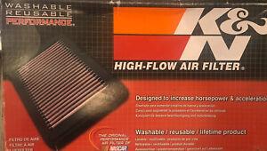 K&N Washable Reuse Air Filt. 33-2847 for Citroen/Peugeot/Suzuki  1.6L L4 Diesel