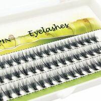 60 Pieces Mink False Eyelashes Extension Strip Natural Long Lashes Make Up Tools