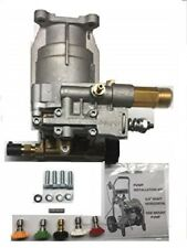 Free Tips 3100 Psi Pressure Washer Pump Driver Zr2800 D2400h Horizontal 34