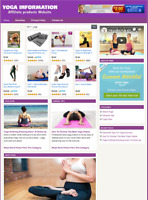 YOGA WEBSITE - Affiliate Information Website For Sale - Free Installation