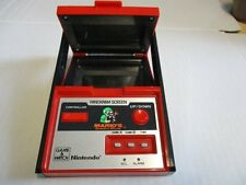 Nintendo Game & Watch telespiel Super Mario 's bombs Away panorama Screen 1983