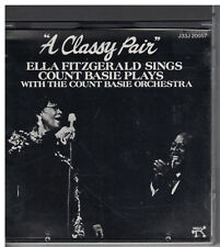 A Classy Pair Ella Fitzgerald Sings Count Basie Plays Japanese import CD