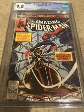 THE AMAZING SPIDER-MAN #210 CGC 9.8 -- WHITE PAGES! 1ST MADAME WEB DENNY O'NEIL