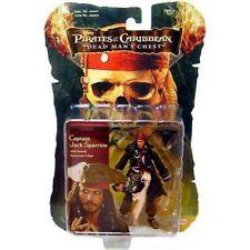 Disney Pirates of the Caribbean Captain Jack Sparrow Figure NIB Dead Man's Chest